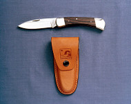 Classic rosewood handle, high carbon stainless steel blade, nickel silver bolsters, liners and pins #R380S Sugg Retail $176.00