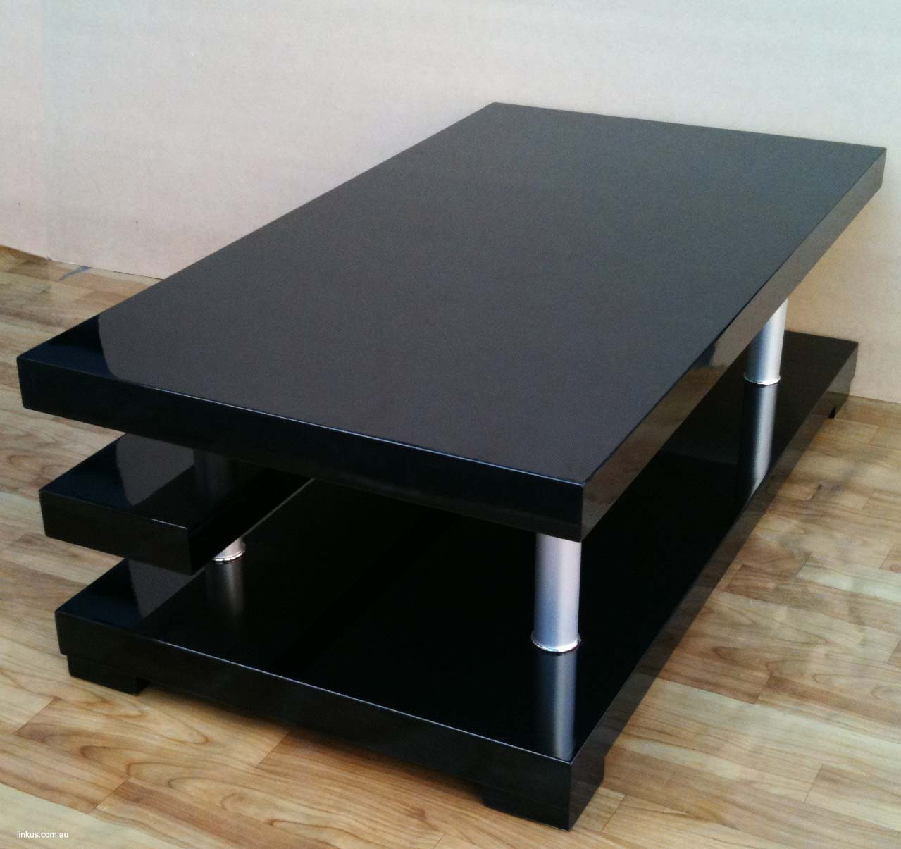 Cheap Shiny Gloss Black Coffee Tea Table Furniture On Line