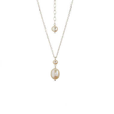 Pia freshwater cream pearl wedding pendant