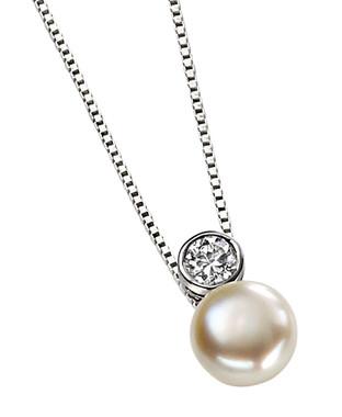Adoria freshwater pearl wedding pendant