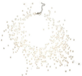 Danielle Floating Freshwater Pearl Necklace