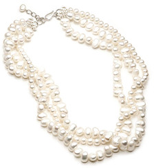 Katya Freshwater Pearl Bridal Necklace