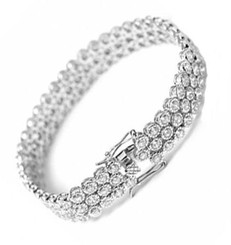 diamante bridal bracelet £85.95