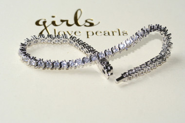 Elizabetta Diamante Tennis Bracelet perfect for wedding