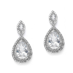 Diamante Drop Earrings £49.95