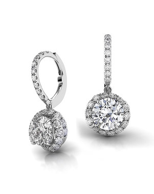 Adelina Cubic zirconia drop earrings £42.95 perfect for your wedding