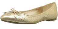 BCBGeneration Women's Wallee Ballet Flat, Gold