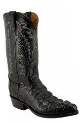 Men's Lucchese Classics L1325.23 Caiman Crocodile Tail Cowboy Boots