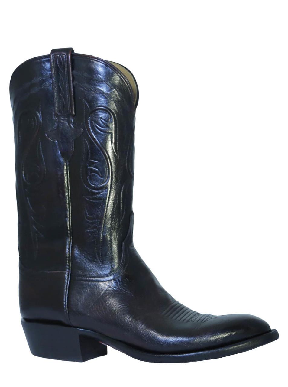 0e304d6d0ea Men's Lucchese L1580 Classics Black Cherry Buffalo Boots