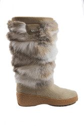 Women's Pajar Foxy Winter boot Rabbit Color and Black