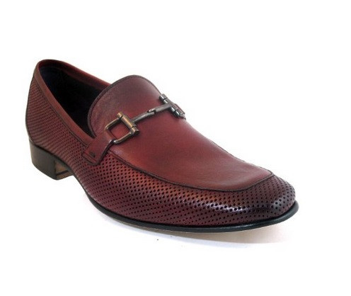 Menu0026#39;s Lorenzi 1194 Italian Leather Loafers Shoes For Davinci - Davinci Shoes New York
