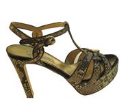 Seller Women's 504 Dressy Italian Python High Heel Sandal