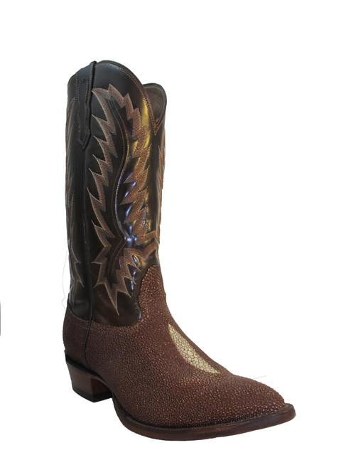 e017c3d7494 Nocona Men's Cowboy Boots Stingray 1272, Brown