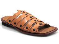 19f4f14f04378 Davinci 10745 Men s Leather Strappy Slip On Gladiator Sandals