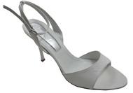 Dyva Designer 19947 Women's Italian Open Toe Back Strap Mid Heel Sandal