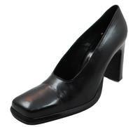Oxmox 8300 Women's Italian Mid Heel Pump, Black