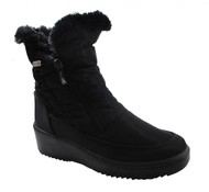 Pajar Women's Veronica Patented Ice Grip Winter Boots in Black