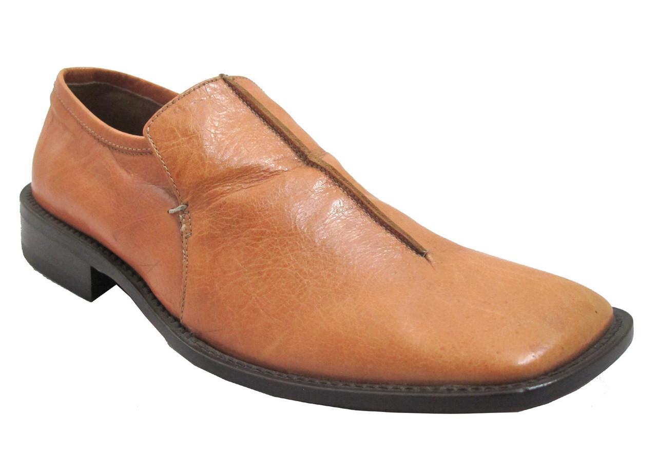 22d842adf Davinci Men s 5009 Slip-on Square Toe Italian Leather Shoes.  169.00. Image  1