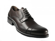 Morandi  Men's 2625 Italian lace Up Leather Shoes Brown