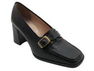 Davinci 106 Women's Italian Low Heel Black,Tan And White