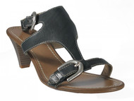 Davinci Italian Designer Women's 3003 Low Heel Dressy/Casual Leather Sandal