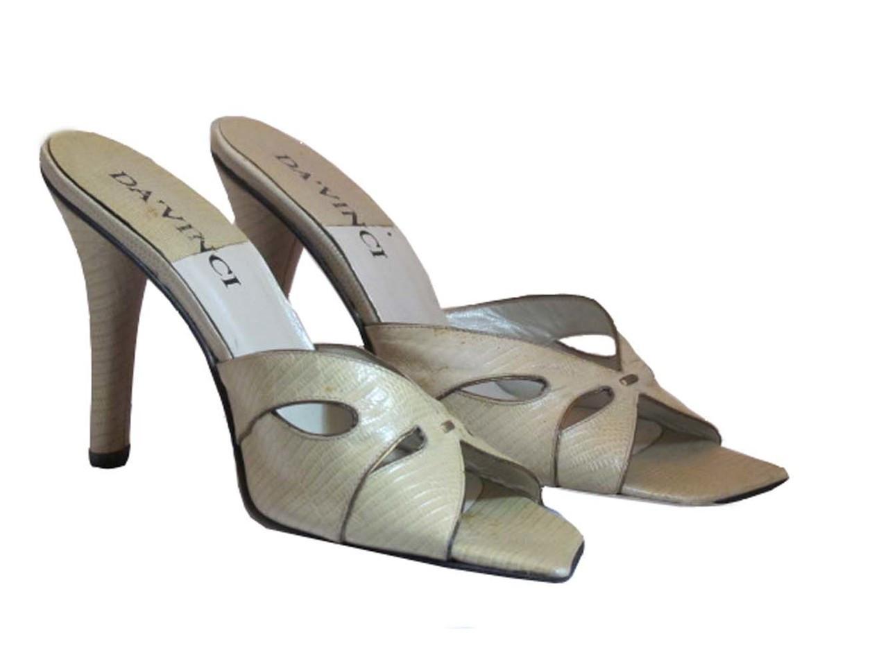 589db0a2bb0b7 Davinci Italian Women's High Heel Sandal NE38