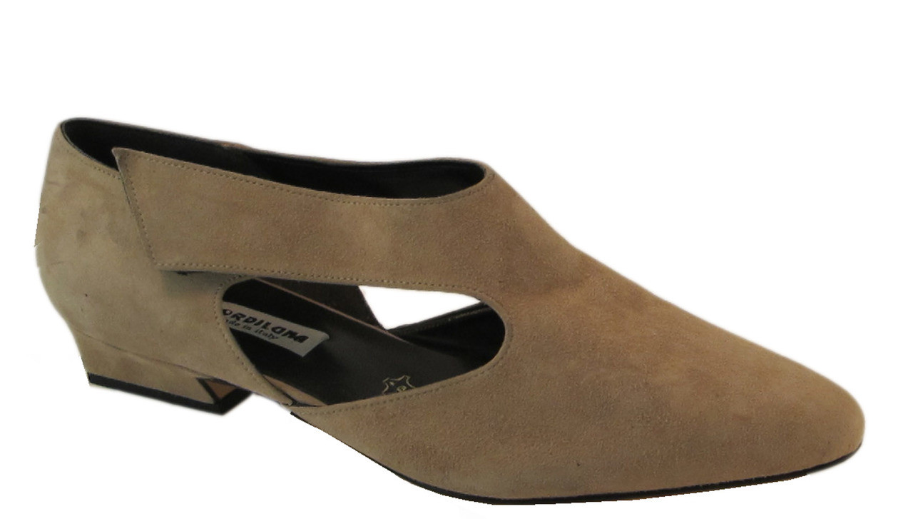 00325487dc6 Fiordiluna 929 Women's Italian Flat Shoes Black and Tan