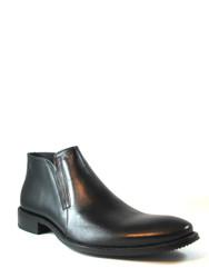Men's Morandi Italian Ankle boot 4008,Black