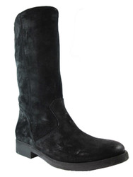 Men's Davinci Brushed Suede Leather 4017 Boots, black or brown