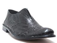 Davinci Italian Slip on Summer Shoes 6122 Black