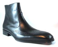 Doucals Italian Dressy Ankle Boot 10157 Black