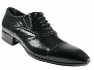 Doucal's Men's 10206 Italian Leather Dressy Lace up shoes