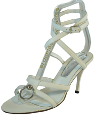 Dyva Women's Ankle Strap Italian Leather Dressy Sandal 19950