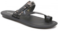 Giampiero Nicola Men's Italian Leather Sandals Slippers 30069 Black Eu 39