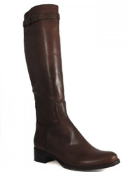 Davinci Women's Italian Leather Knee high Flat Boots 670218
