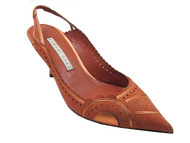 Women's Pura Lopez Dressy Low Heel Closed Toe Spanish Leather Sandals 352