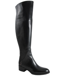 417467  knee high Black Boot