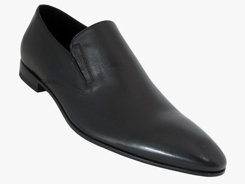 Doucals Men's Italian Leather Pointy Toe Dressy Shoes 1129