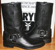 Mens Frye Jackson Harness Boots 87680, Black