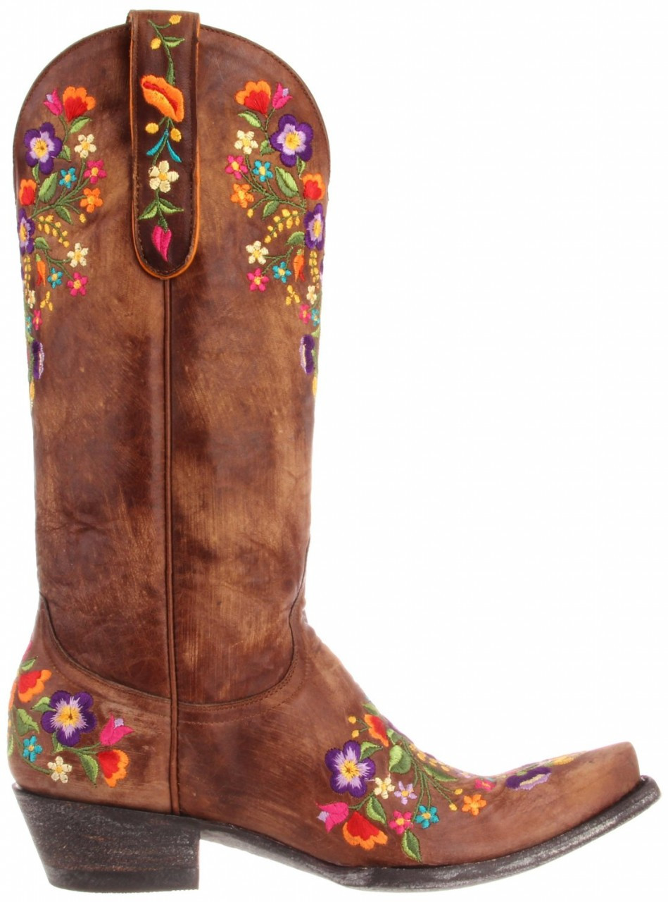 2435c4572c7 Womens Old Gringo Sora L841-3 13 Inch Boots Brass