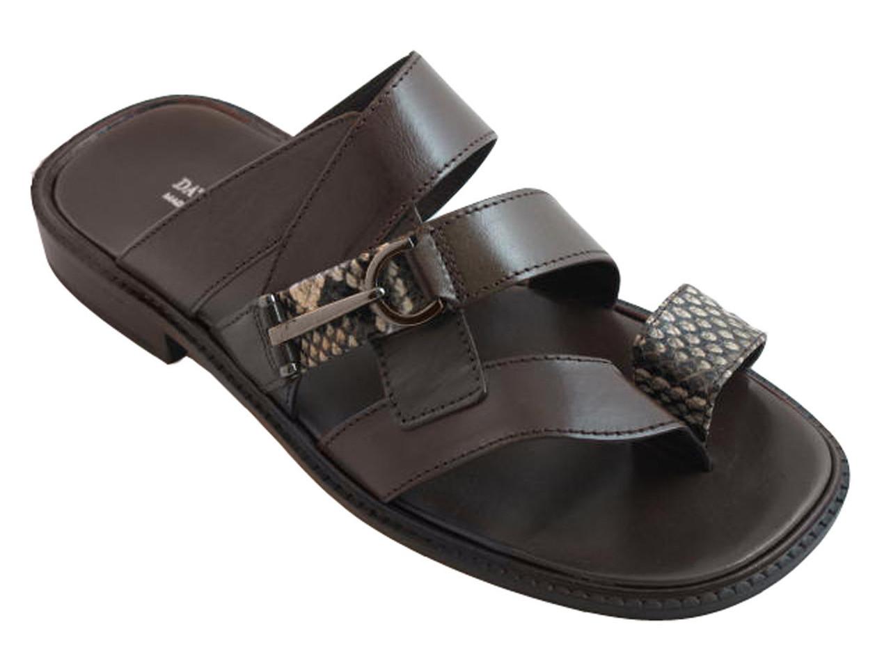 a8db9020d Davinci 2308 Men s Italian Ring Toe Python Sandals.  229.00. 2308 Brown