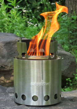camping with a solo stove