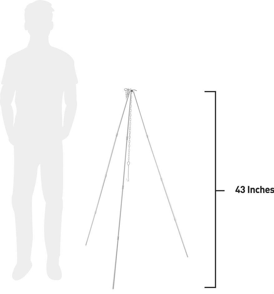 43 Inches Tall