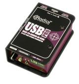 Radial Engineering USB-Pro Stereo USB Laptop Computer DI