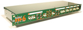 Radial Engineering JD6 Six-Channel Passive Rackmount Direct Box