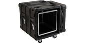 SKB Cases 10U Roto Shockmount Rack Case - 24