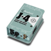 Radial Engineering J+4 Balanced -10dB to +4dB Line Level Driver