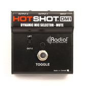 Radial Engineering HotShot DM1 Stage Mic Toggle