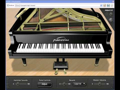 Pianissimo Virtual Grand Piano