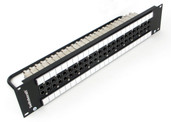 "Switchcraft VPP24K1HD75TX Standard ""HD"" 3Ghz Video Patchbay - Normalled / 75 Ohm Terminated"